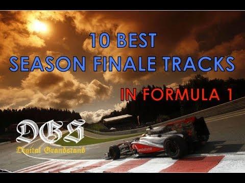 10 Best Season Finale Circuits In Formula 1