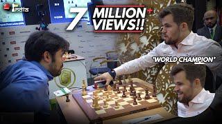 The game that made Magnus Carlsen the World Rapid Champion 2019 screenshot 4