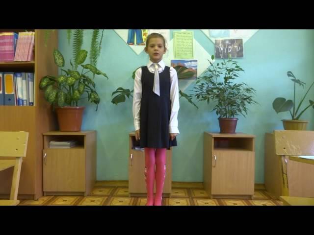 Белкова Кристина читает произведение «Первый соловей» (Бунин Иван Алексеевич)
