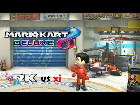 En Directo! MARIO KART 8 DELUXE ONLINE / RK vs xi