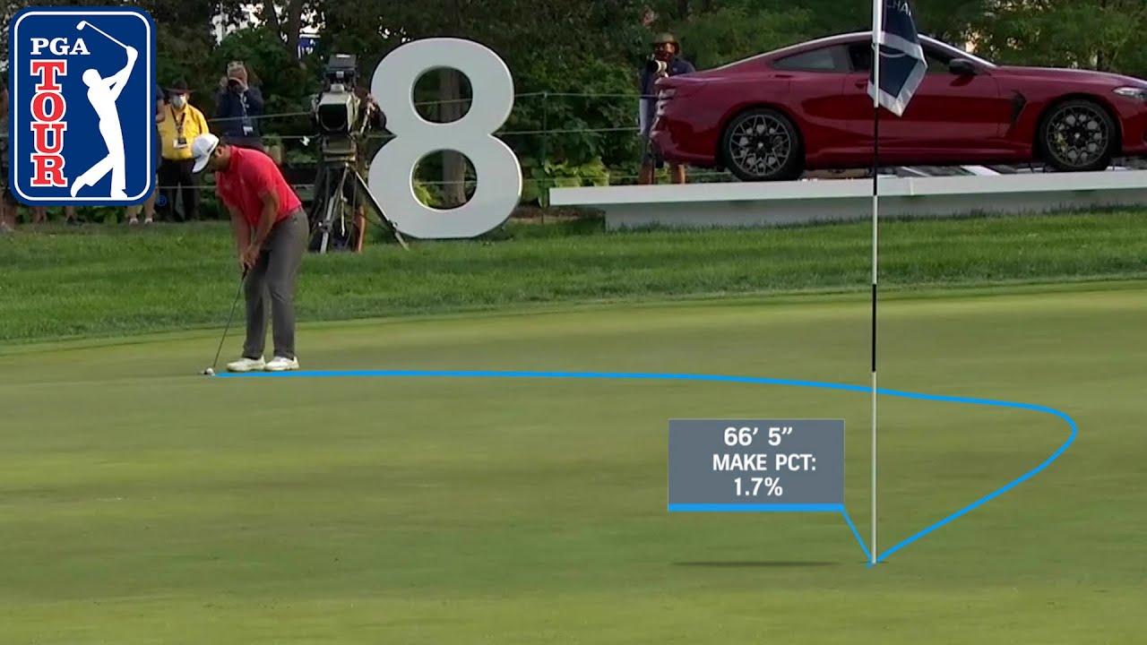 Wildest putts from Jon Rahm's PGA TOUR career