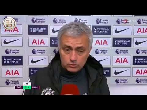 Jose Mourinho post match interview - 'Mentally killed