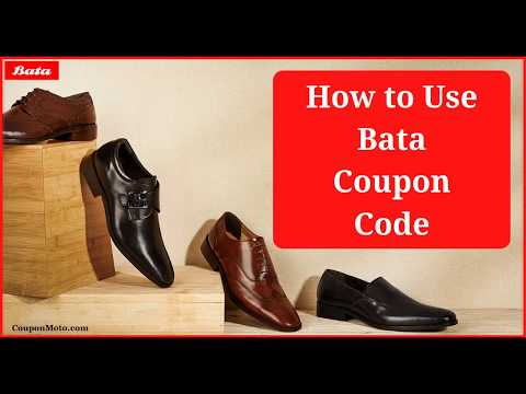 How to Use Bata Coupon Code