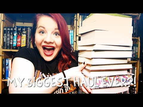 MY BIGGEST HAUL EVER? | Book Haul #20