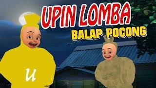 Upin ipin Lomba balapan Pocong , Upin senang GTA Lucu