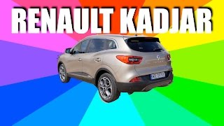 Renault Kadjar (ENG) - Test Drive and Review