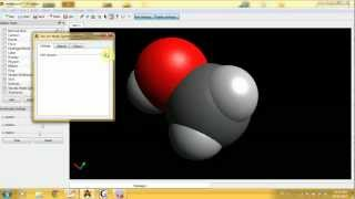 Avogadro with Gaussian Tutorial Basics 2