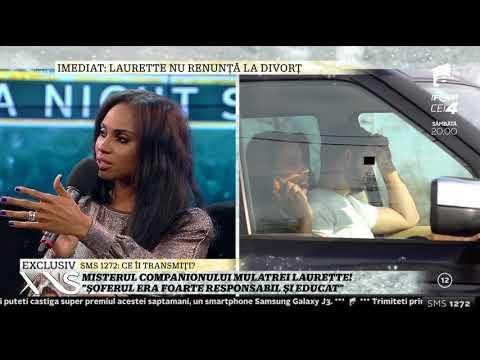 """Întortocheata viață amoroasă a mulatrei Laurette: """"Sunt urmărită 24 din 24 de ore"""""""