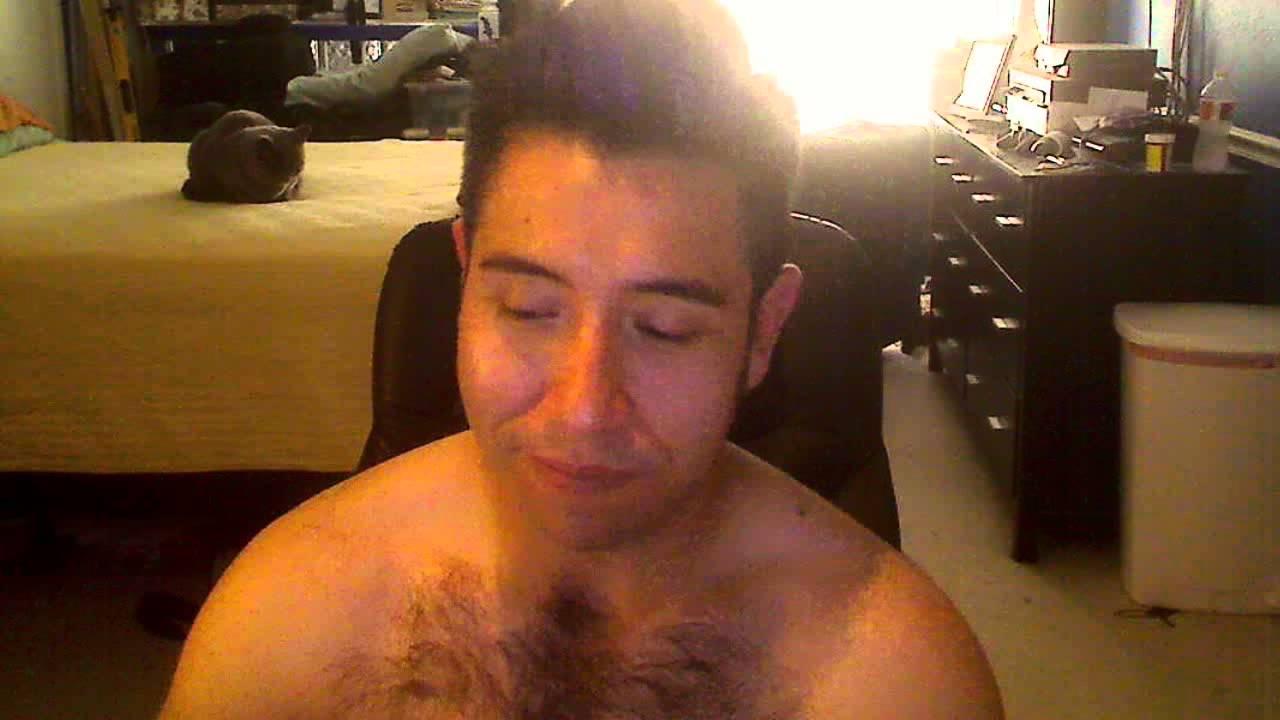 Hairy Guy Going Commando Freeballing - YouTube
