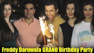 Salman's Race 3 Co-Star Freddy Daruwala GRAND Birthday Party | Arbaaz Khan With Girlfriend, Riya Sen