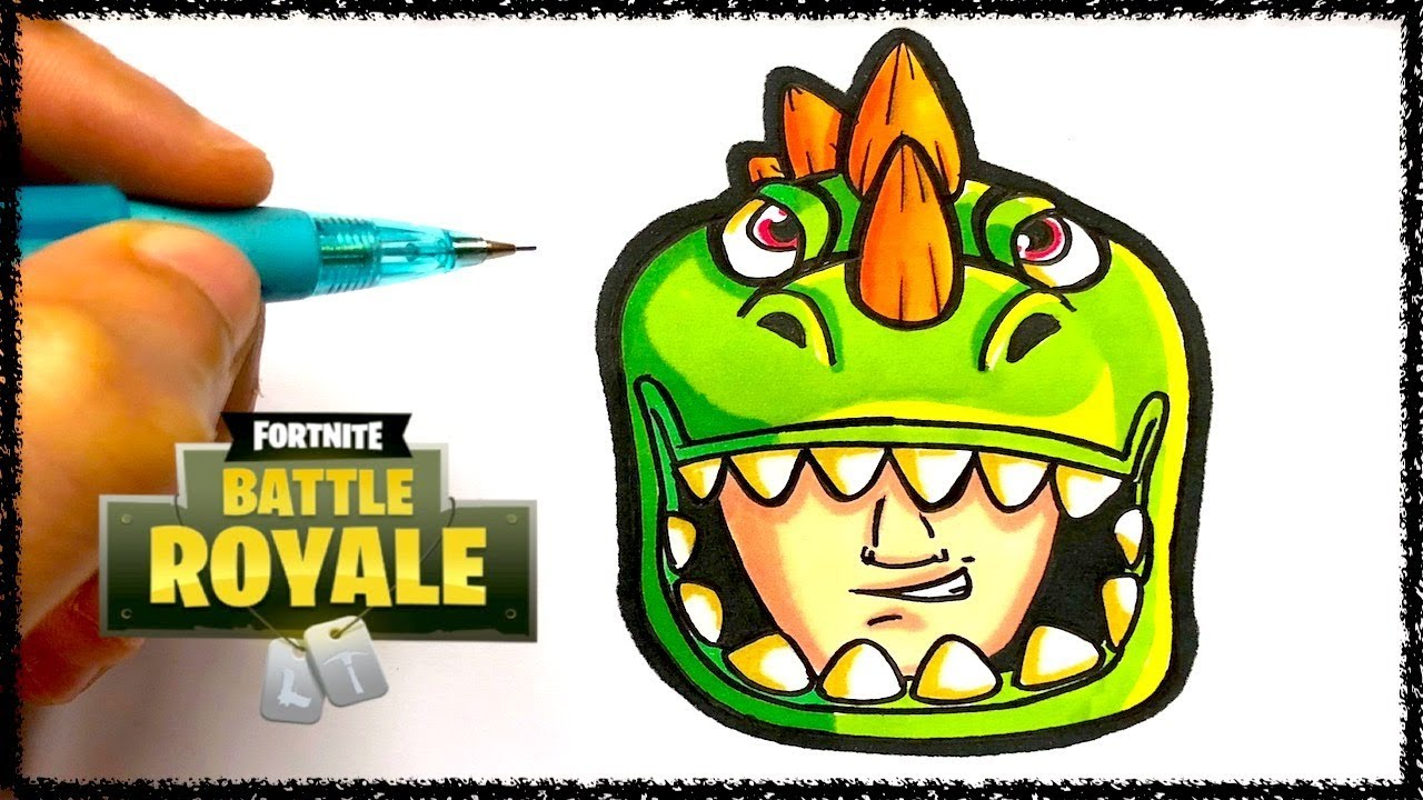 Coloriage Emoji Fortnite.Tuto Emoji Rex Fortnite Youtube