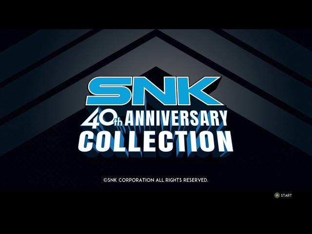 SNK 40th Anniversary Collection 100% exploit completion guide