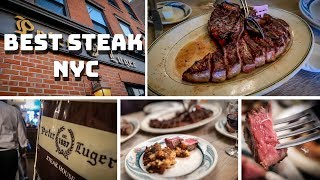 NYC FOOD ADVENTURE | Peter Luger best steak NYC
