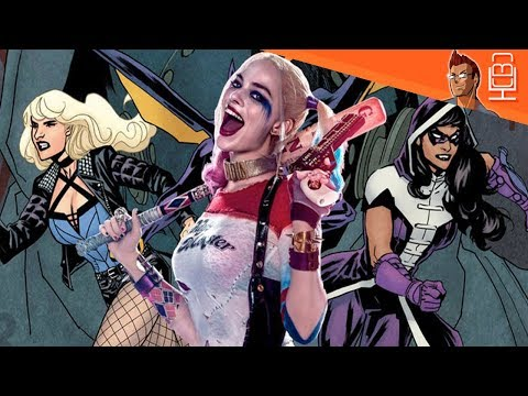 Birds of Prey is Official & Team Revealed