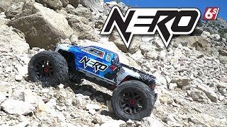 ARRMA 1/8 NERO 6S BL BLX 4WD MT w/Diff Brain RTR Video