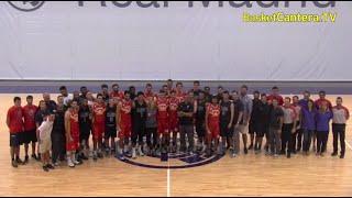 VILLANOVA UNIVERSITY Campeón NCAA-USA vs. SPAIN ALL STAR (Madrid 8/7/2016)