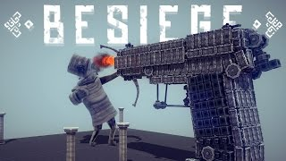 One of Draegast's most viewed videos: Besiege Gameplay - Best Besiege Creations - HUGE Pistol! , Tanks, Trebuchets & More!