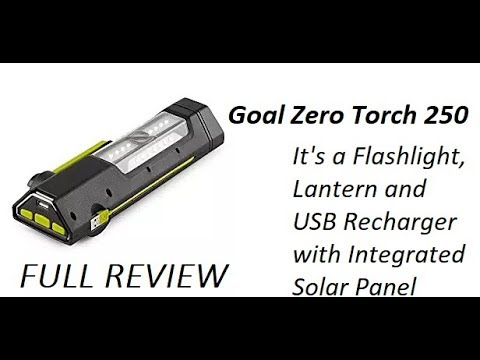 I Cranked It For 15 Seconds and Got 16 Min and 30 Seconds of Light!  Goal Zero Torch 250.