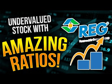 Undervalued Oil & Gas Stock w/ Amazing Ratios! See my discounted cash flow model! Ticker = REGI