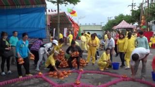 20170527桃園市龍華科期法會影片之五信士大德祭拜祈福場地佈置