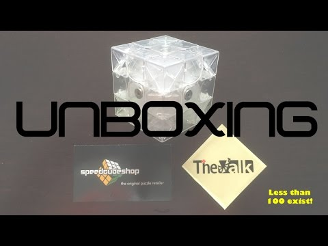 Limited Edition Transparent Valk 3 Unboxing! | SpeedCubeShop.com