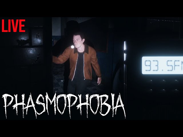 Different breed of ghost hunters | Phasmophobia Live