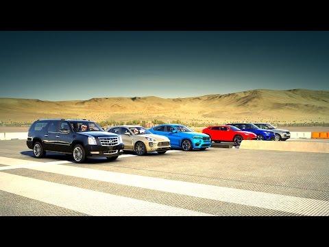 Forza 6: World's Greatest Drag Race! SUV (Urus, BMW X6, Macan, RANGE ROVER & More!)