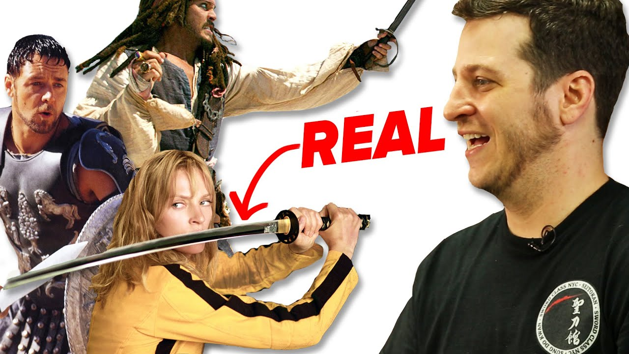 How Realistic Are Movie Sword Fights?