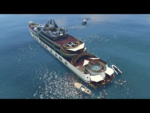 GTA 5 Online - NEW $10,000,000 SUPER YACHT & CUSTOMIZATION GUIDE! (GTA 5 Executives DLC)