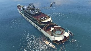 GTA 5 Online - NEW $10,000,000 SUPER YACHT & CUSTOMIZATION GUIDE! (GTA 5 Executives DLC)