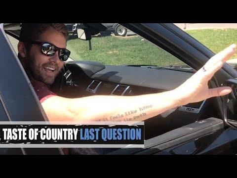 Brett Young's Celeb Crush? Channing Tatum! - Last Question