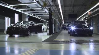 Mercedes CLA & B Class production line(Please Subscribe., 2015-08-10T00:17:01.000Z)