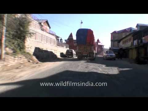 Himalayan Driving from Theog near Shimla to Narkanda in Himachal  Part 6