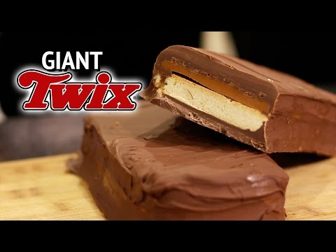 DIY GIANT TWIX - 4 POUNDS EACH