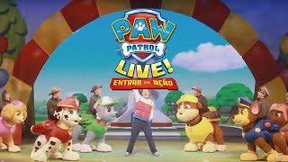 «PAW Patrol Live!: Entrar em Ação»