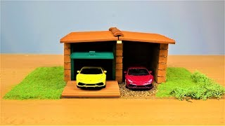 HOW TO BUILD A BRICK WALL: BRICKLAYING --- How to build a MINI Double  GARAGE