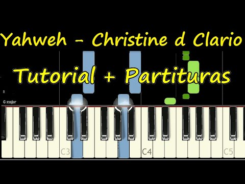 YAHWEH Piano Tutorial Cover Facil + Partitura PDF Sheet Music Easy Midi thumbnail