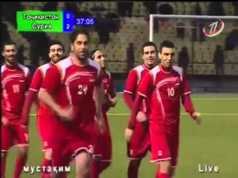 Friendly match: Tajikistan vs Syria - 2:3 (31.03.2015)