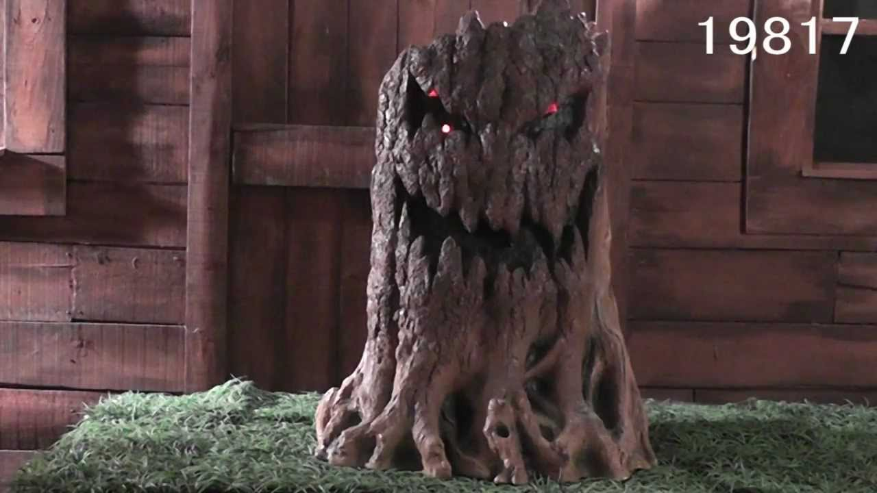 Haunted Tree Stump 19817 Youtube