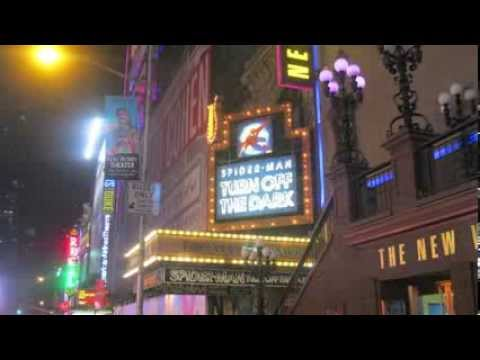 Marquee Mania - Broadway and the Theater District