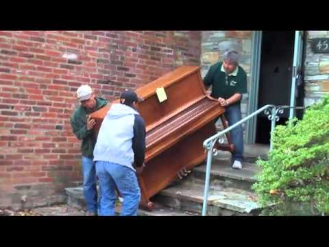 How Not To Move >> How Not To Move A Piano Youtube