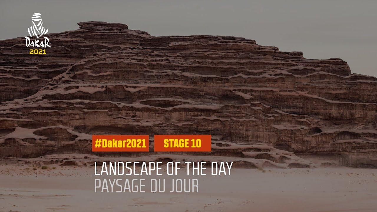 #DAKAR2021 - Stage 10 - Neom / AlUla - Landscape of the Day