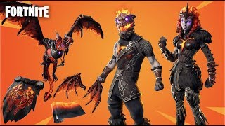 NOW AVAILABLE!! NEW PACK *LAVA LAWS* - SKINS FORTNITE