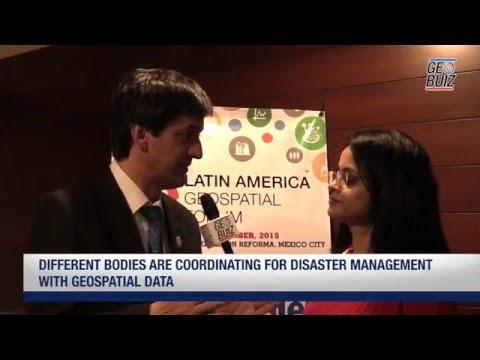 Alvaro Monett talks on the advancements of SDI in Chile