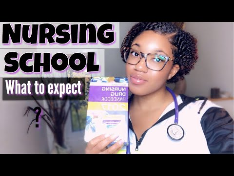 WHAT TO EXPECT IN NURSING SCHOOL