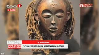 Cultura Cokwe -  Mulheres cumprem vários rituais para atingir a vida adulta