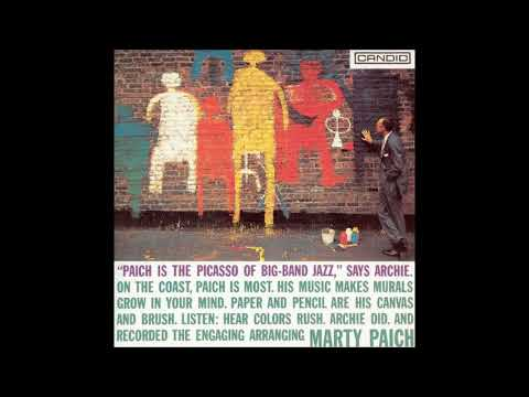 Marty Paich ‎– The Picasso Of Big Band Jazz ( Full Album )