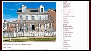 Nice Homes For Sale in Rockville MD King Farm Neighborhood 20850
