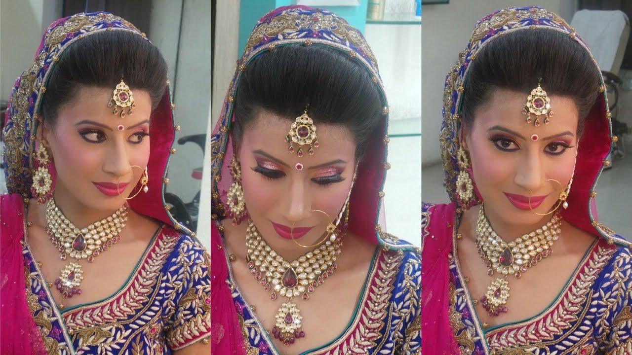 indian bridal makeup - princess look - youtube