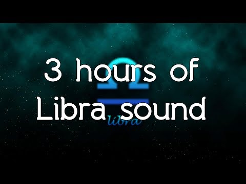 🎧 ♎ Libra relief sound - Pure frequency of Libra 369.99 Hz and music white noise